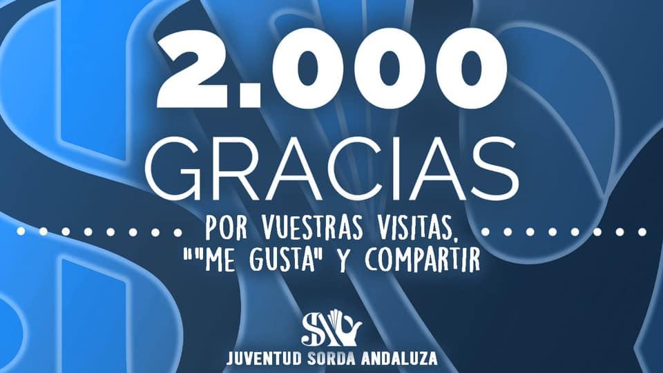 ¡Ya somos 2.000 en Facebook!