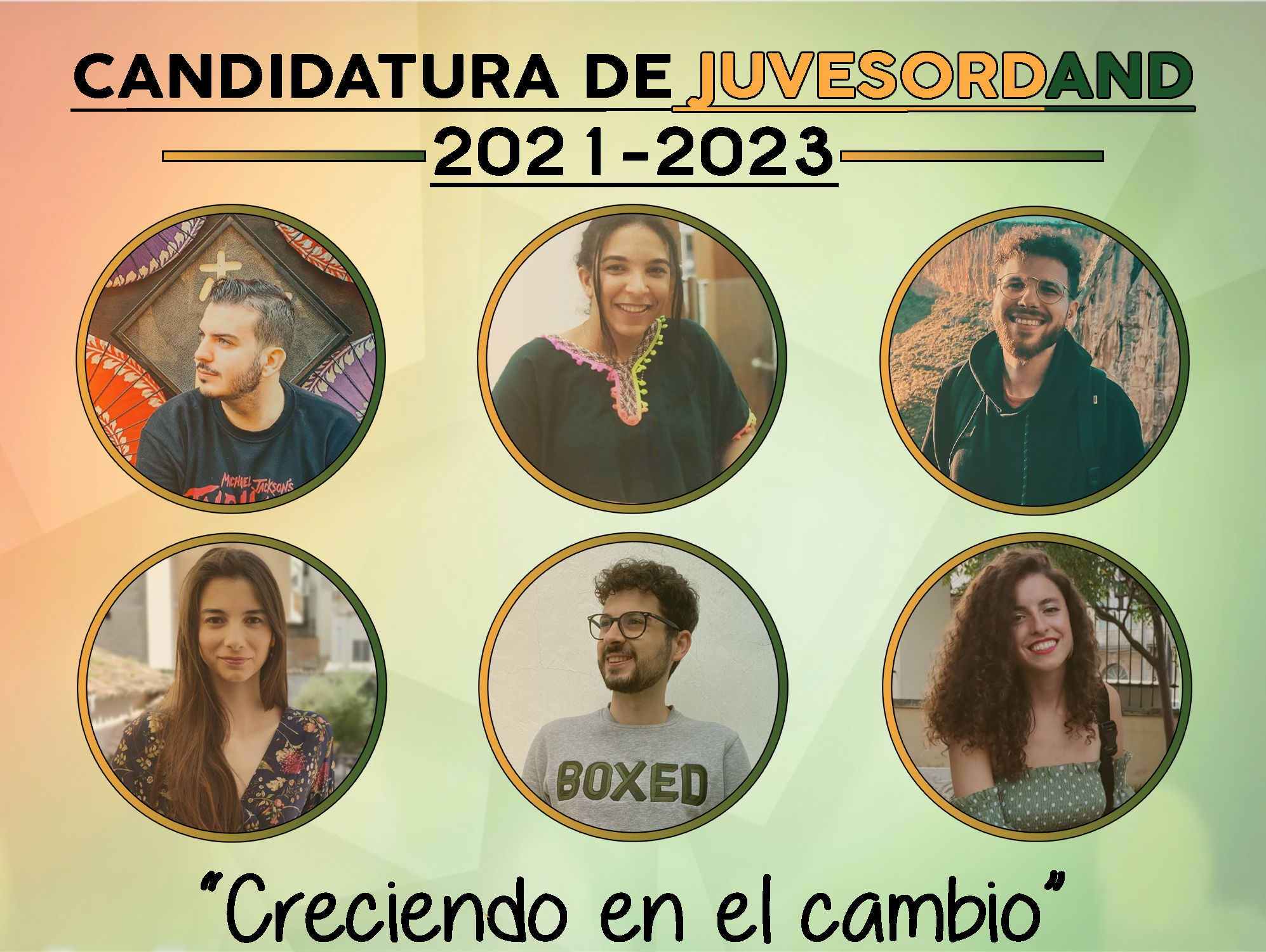 CANDIDATURA DE LA JUVESORDAND (2021-2023)